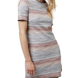 Wash Stripe Minidress